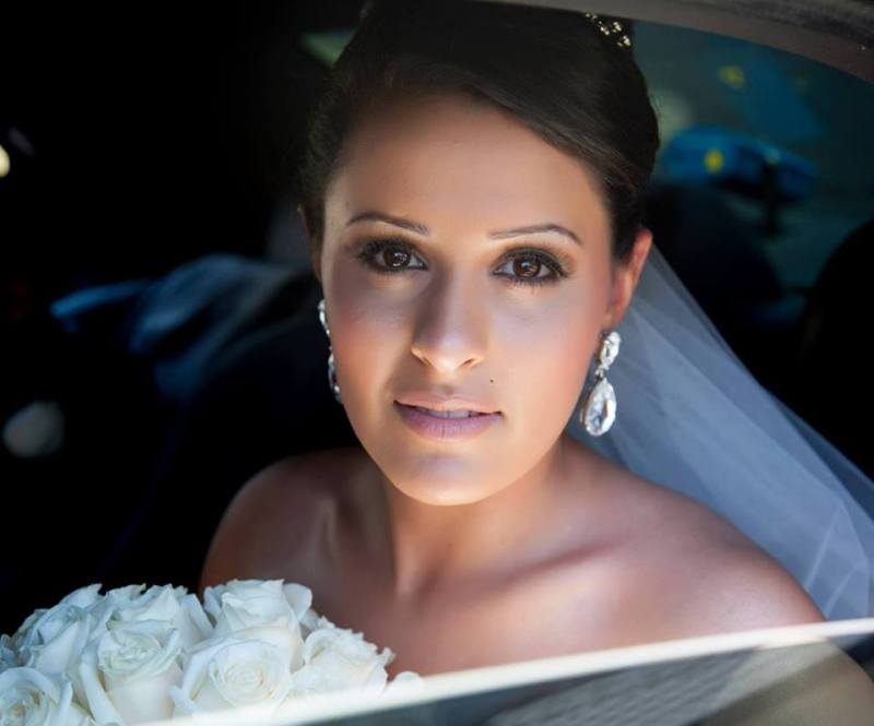 Beautiful Bride Annmarie. Hair by Holly Phoenix Lane. Makeup by Kelly Simply Beauty Studio