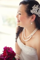 Bride CarrieMakeup by KellyHair by Holly-Maree