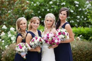 Renata and her bridal party. Makeup by Kelly Simply Beauty Sydney. Hair by Holly Phoenix Lane. February 2015.
